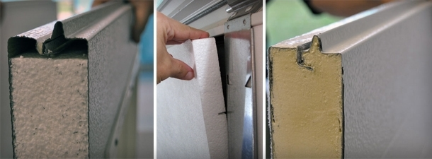 Garage Door Insulation Types