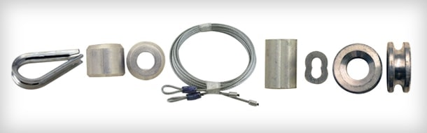 Garage Door Cable Sleeve Stops Spool