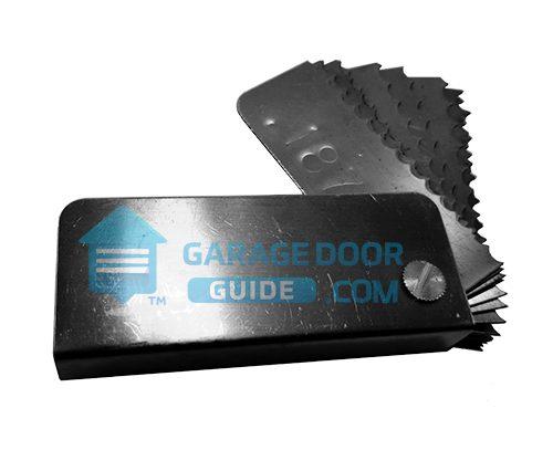 Garage Door Spring Wire Gauge Tool Residential