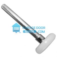 Garage Door Nylon Roller Sealed Cap Side View